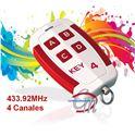Mando Garaje 4 Canales 433.92MHz KEY4 - 083-2201