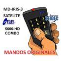 Mando Original IRIS 5600HD-COMBO - MD-IRIS-3
