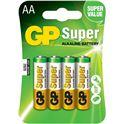 Pila Alkalina GP LR06 Super BL4 - GP-LR06S